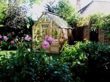 Växthuset Rosemoor för den minsta trädgården