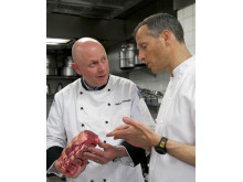 Master Chef and Master Butcher Veal