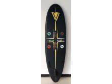 Hi-res image - VETUS - The YellowV Heartbeat YVSUP08 SUP is playful and aimed at children