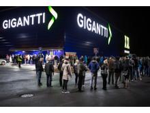 Gigantin avajaiset Porissa loppuvuodesta 2018