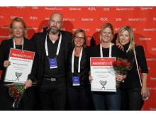 Nacka kommun, vinnare i Bästa Service  & support webbplats - Episerver Awards 2016