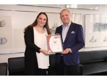 MCS-Zertifikat für Tallink Silja