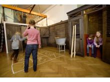 Skolegården i Børnenes Museum på Nationalmuseet