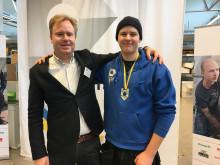 SM-vinnaren 2017 Daniel Ericsson