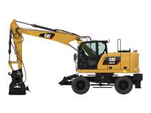 Cat M314F hjulgrävare - vänster sida