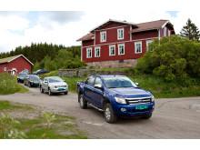 Lansering av nye Ford Ranger på Bestul jakthytte i Skien