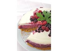 Pelargon cheese cake med doftpelargon
