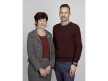 Ewa-May Karlsson och Daniel Öhgren, Centerpartiet
