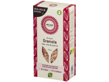 Helios granola med bær, chia og quinoa økologisk