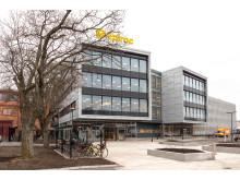 Kontorsbyggnaden Epiroc, kv Signalen 8. Klerkgatan 21.