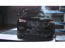 SEAT Tarraco Pole Crash Test