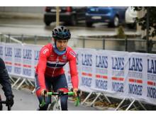 Moe  under sykkel-VM i Bergen