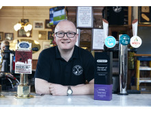 Kevin Mcghee pub landlord at The Athletic Arms