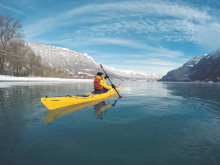 Kajak auf dem Brienzersee (c) Hightide Kayak School