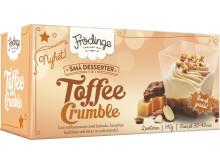Toffee Crumble är en av tre små desserter från Frödinge