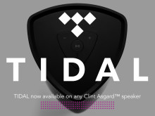 TIDAL High Fidelity Streaming is now available on all Clint Asgard™ speakers.