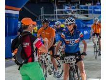 Gran Fondo Stockholm 2014 cyklist i mål