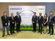 SINGEX SIGNS MOU WITH MAKUHARI MESSE INC.
