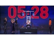 """Christian Wedøy og Hans Grane i """"Got Talent"""" i Spania."""