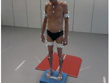 Den nya analysmetoden har testats med hjälp av bland annat en kraftplatta.
