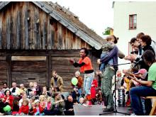 Allsång för barn på Barnens dag den 14 maj 2011
