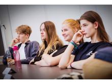 Nye elever ved skolestarten 2019