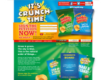 It's Crunch Time: vote for your desired colour packet of crisps!
