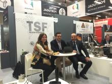 Mafalda Gramaxo, vd på AIMMAP, tillsammans med Pedro Sousa från TSF-Trofa och Rafael Campos Pereira från AIMMAP.
