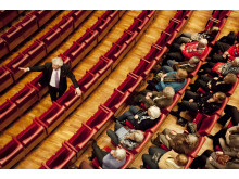 Guidad tur i operahuset med Rolf Nilsson. Foto: GöteborgsOperan