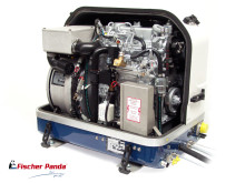 Hi-res image -  Fischer Panda UK - Fischer Panda UK variable speed iSeries Panda PMS 10,000i generator