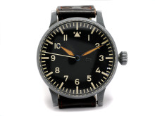 "Klockkvaliten våren 2012, nr 52, LACO, LACHER & Co, Pforzheim, B-Uhr (Beobachtungsuhr), ""Type A"", pilotur, ca 1940"