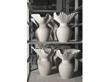 R_Die Vase Falda nach dem Gießen