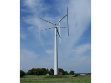 Vertikalaxlade vindkraftverket av typen H-