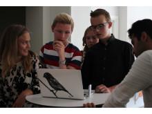 Ungdomarna som jobbar på Sveriges yngsta reklambyrå