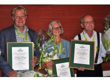 Riksförbundet Svensk Trädgård delar ut Kungliga Patriotiska Sällskapets medaljer