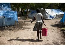 Hjälp från ActionAid har hittills nått 130 000 människor i Haiti