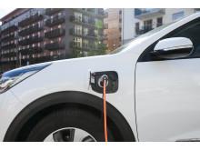 Niro Plug In Hybrid laddar