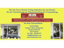 Wir der Pax et Bonum Verlag bedanken uns von Herzen bei BUDZINSKE für die Unterstützung zur Bekanntmachung der Veranstaltung.