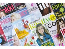 Tutkimus: Naistenlehtien lukijat haluavat sekä painetun että sähköisen sisällön