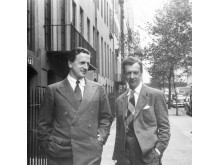 1940 - Britten and Pears in Brooklyn