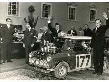 Rauno Aaltonen winner of Rallye Monte-Carlo Historique 1967