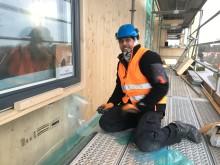 Trähuset intill Norra vägen skapar arbetstillfällen för nyanlända