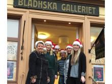 Laila Skantz, Karin Lövgren, Johan Frick, Danny Waggert, Diana Hendin Apell och Anna Ohlin Ek på kultur- och fritidsförvaltningen