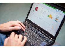 Webbsida till smart elmätare