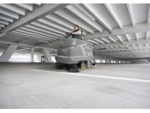 B 200 R er også ideell for bruk i parkeringshus.