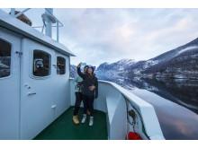 Eine Fjordcruise im Winter hat ihren ganz besonderen Charme