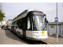 FLEXITY spårvagn för De Lijn i Antwerpen och Gent