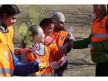 Trivselslederne får opplæring på leke- og aktivitetskurs i regi av Trivselsprogrammet.