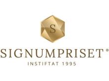 Signumpriset - logotyp stående