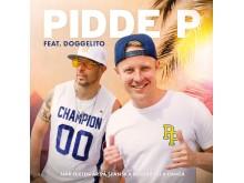 """Pidde P & Dogge Doggelito """"När texten är på spanska börjar alla dansa"""" omslag"""